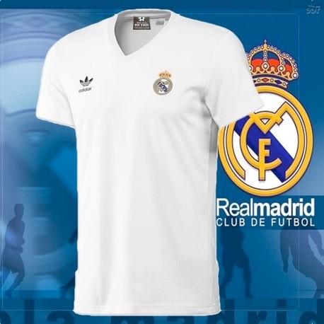 Camisa Retrô Real Madrid Parmalat - ESP