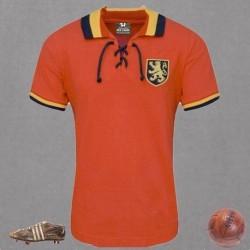 Camisa Retrô Belgica vermelha ML - BEL