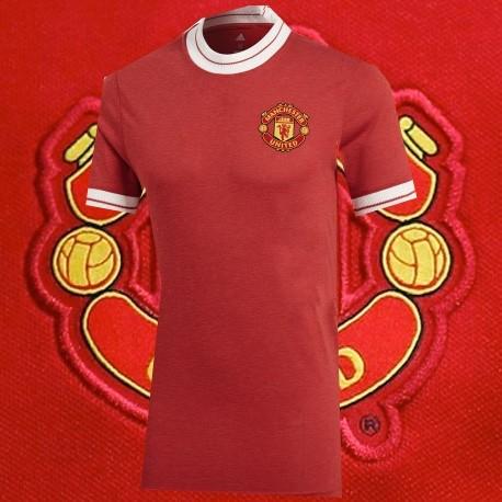 Camisa retrô Manchester United centenario - ENG