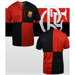 Camisa retrô Flamengo Papagaio Vintém