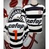 Camisa retrô Corinthians goleiro cofap listrada - 1980