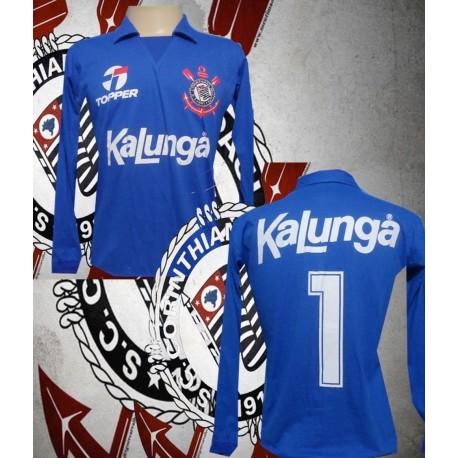 Camisa retrô Corinthians Corona ML