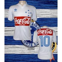 Camisa retrô coca cola branca 1987