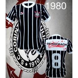Camisa retrô Corinthians1979-1980