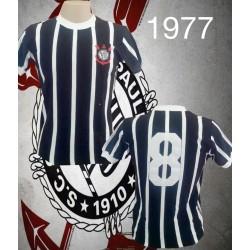 Camisa retrô Corinthians - 1977 tradicional