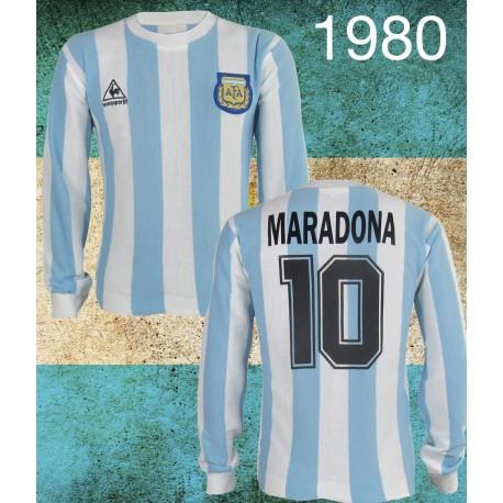 Camisa retrô da Argentina le coq - 1980