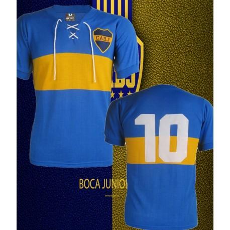 Camisa Retrô Boca Junior cordinha - ARG