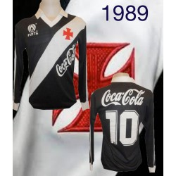 Camisa retrô Vasco da Gama finta ML - 1989