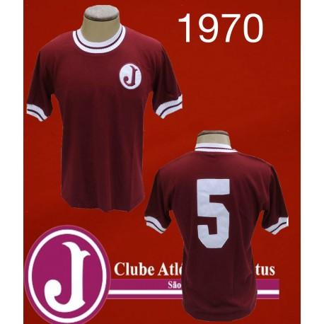 Camisa retrô Juventus da Mooca - 1970 gola redonda