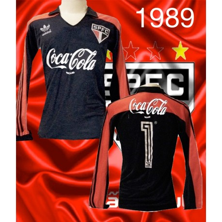 Camisa retrô São Paulo goleiro ML -1989