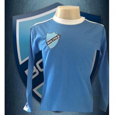 Camisa retrô Club Bolívar ML 1980