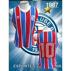 Camisa retrô Bahia 1988 Banerb