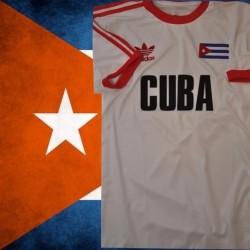 Camisa Retrô Seleção de Cuba