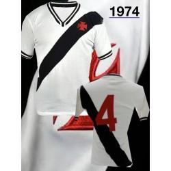 Camisa retrô Vasco branca - 1974