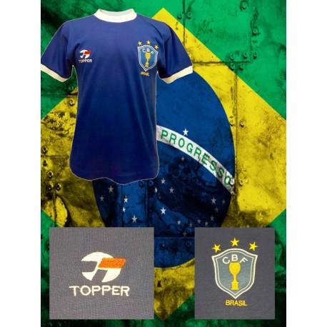 Camisa Retrô Seleção Brasileira - 1970