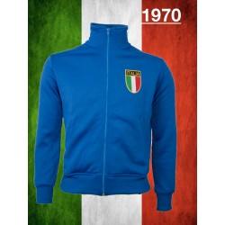 Camisa retrô Itália branca ML -1970