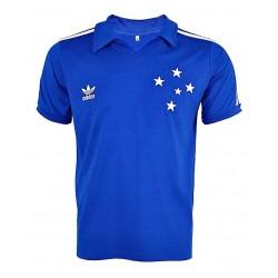 Camisa retrô Cruzeiro estile retrô azul - 1987