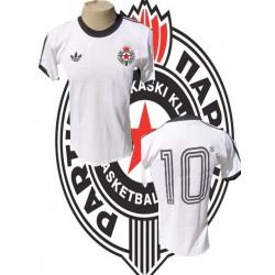 Camisa retrô Partizan belgrado