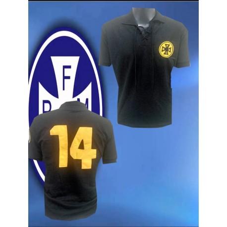Camisa Retrô Seleção Azul topper - 1986