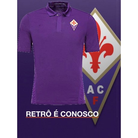Camisa Retrô Fiorentina Le coq - - ITA