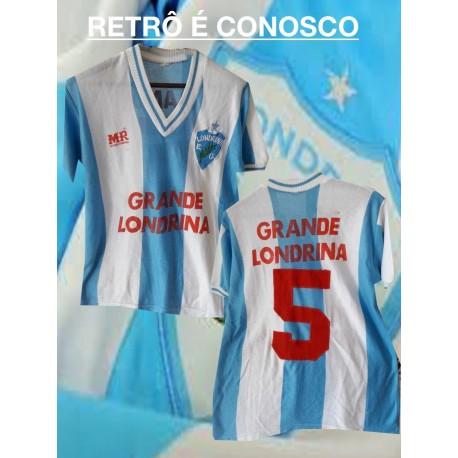 Camisa retrô Londrina - Coca Cola