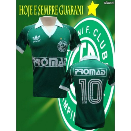 Camisa retrô Guarani - 1984 logo