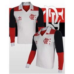 Camisa retrô Flamengo - 1981 manga longa