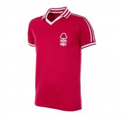 Camisa Retrô nottingham forest vermelha 1970- ENG