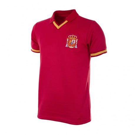 Camisa retrô Espanha 1970