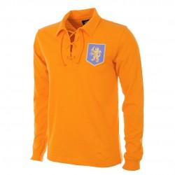 Camisa retrô Holanda goleiro amarela -1974