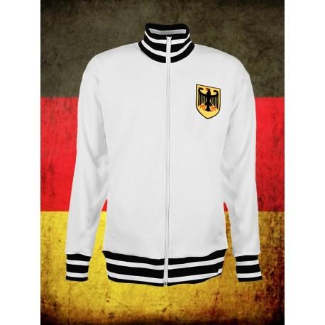 Camisa retrô Alemanha Verde 1954 - reserva