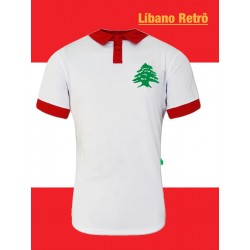 Camisa retrô da Palestina 1980.