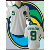Camisa retrô Cosmos de Nova York branca -Pelé