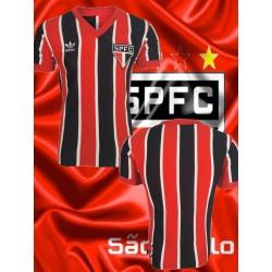 Camisa retro São Paulo FC tricolor coca cola