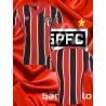 Camisa retro São Paulo FC tricolor logo