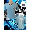Camisa retrô Grêmio celeste