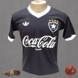 Camisa retrô Botafogo 1980 preta