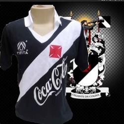 Camisa retrô Vasco da Gama Finta preta 1989