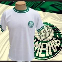Camisa retrô Palmeiras branca - 1970