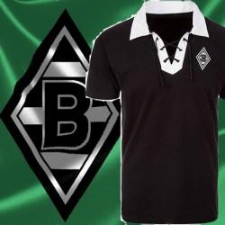 Camisa retrô Borussia Mönchengladbach cordinha
