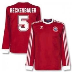 Camisa Retrô F.C. Bayern vermelha 1974- ML - ALE