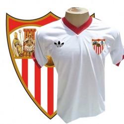 Camisa Retrô Sevilla FC branca 1976-77 - ESP