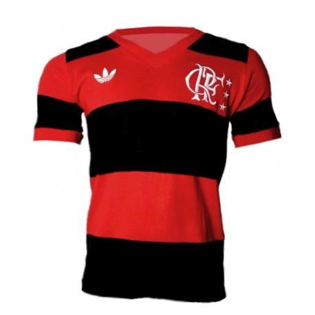 Camisa retrô Flamengo logo - 1982