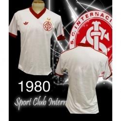 Camisa retrô Aplub Internacional vermelha - 1986