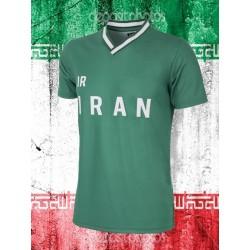 Camisa retrô Iran verde - 1978