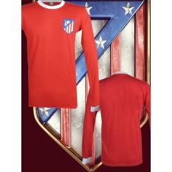 Camisa retrô Alético de Madrid vermelha ML- 1973