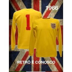 Camisa retrô manga longa Inglaterra -1966