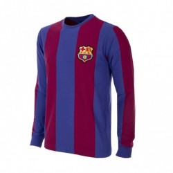Camisa retrô Barcelona ML gola redonda - 1970