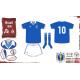 Camisa Retrô Seleção Azul topper 1986