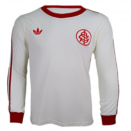 Camisa retrô Internacional branca ML - 1981